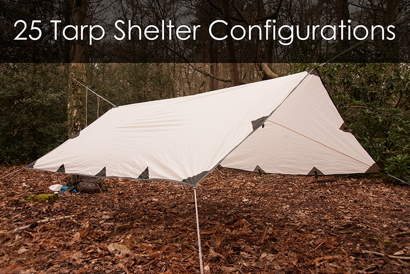Tarp Camping Shelter : How to make a tarp tent designs