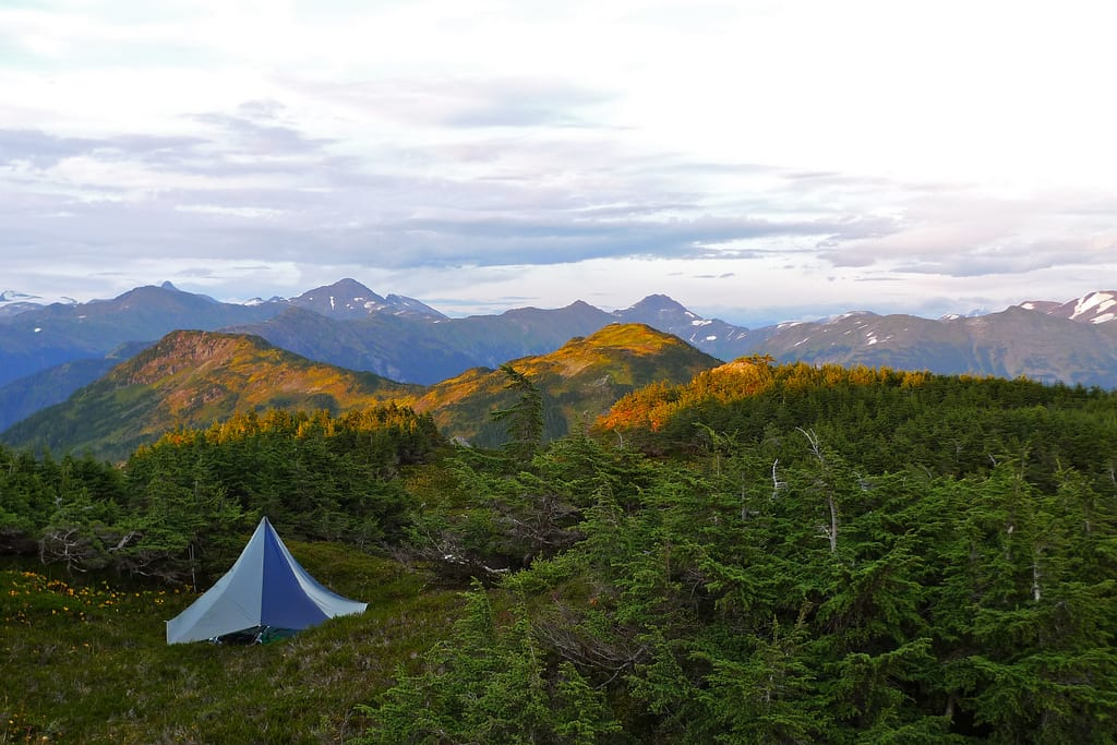 Tarp Tents For Backpacking : Tarp shelter vs a tent for backpacking and camping