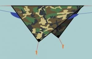 hammock-Diamond-Tarp-Setup