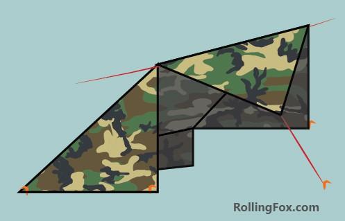 Adirondack Configuration Tarp Shelter & How to Make A Tarp Tent 25 Designs