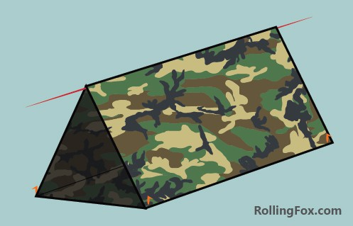 The body bag tarp shelter or tube tent provides decent cover all round. Itu0027s similar in shape to the A-frame however the body bag also has ground cover. & How to Make A Tarp Tent 25 Designs