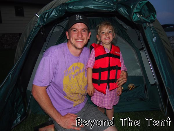 Beyond the tent