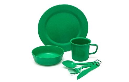 C& Mess Kit  sc 1 st  Rolling Fox & 6 of the Best Camping Plates Set 2018