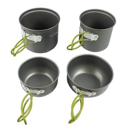 G4Free Outdoor Camping Cookware Set