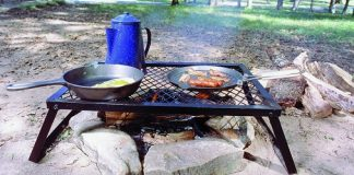 camping grills featured image