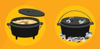 Campfire cooking infographic featured image