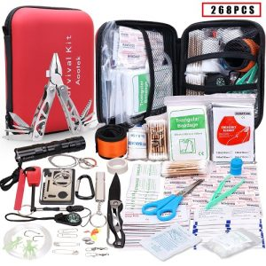 Aootek First Aid Survival Kit