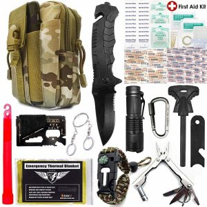 Everlit Emergency Survival Kit Upgraded 80-In-1