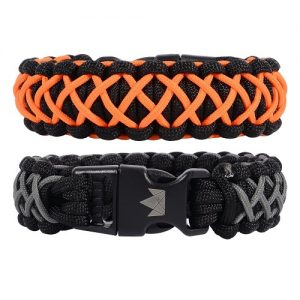 The Friendly Swede Paracord Survival Bracelets