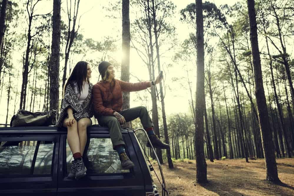 camping inspiration on social media