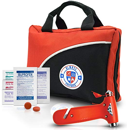 Always Prepared 126-Piece First Aid Kit